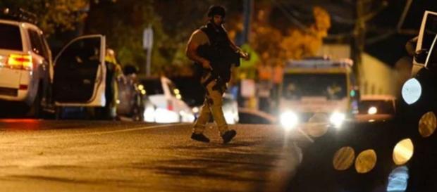 Polícia ainda investiga atentado terrorista em Melbourne (Foto: Reprodução/Vídeo)