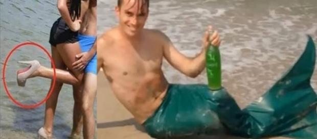 Rabo de sereia e salto alto na praia: coisas que só acontecem nas praias brasileiras