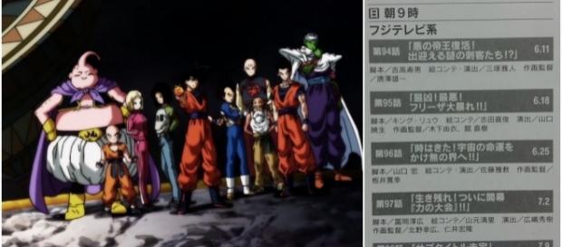 Scan de la revista New Type con los titulos de los proximos episodios