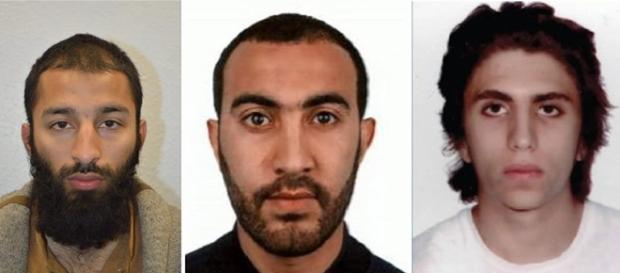 Se conoce la identidad de los tres terroristas de Londres