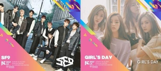 SF9 and Girl's Day for KCON17LA (via Events – Zombie Mamma - zombiemamma.com)