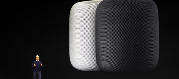 Timothy D Cook. Apples chief executive, discussing Apple's new HomePod speaker. nytimes.com