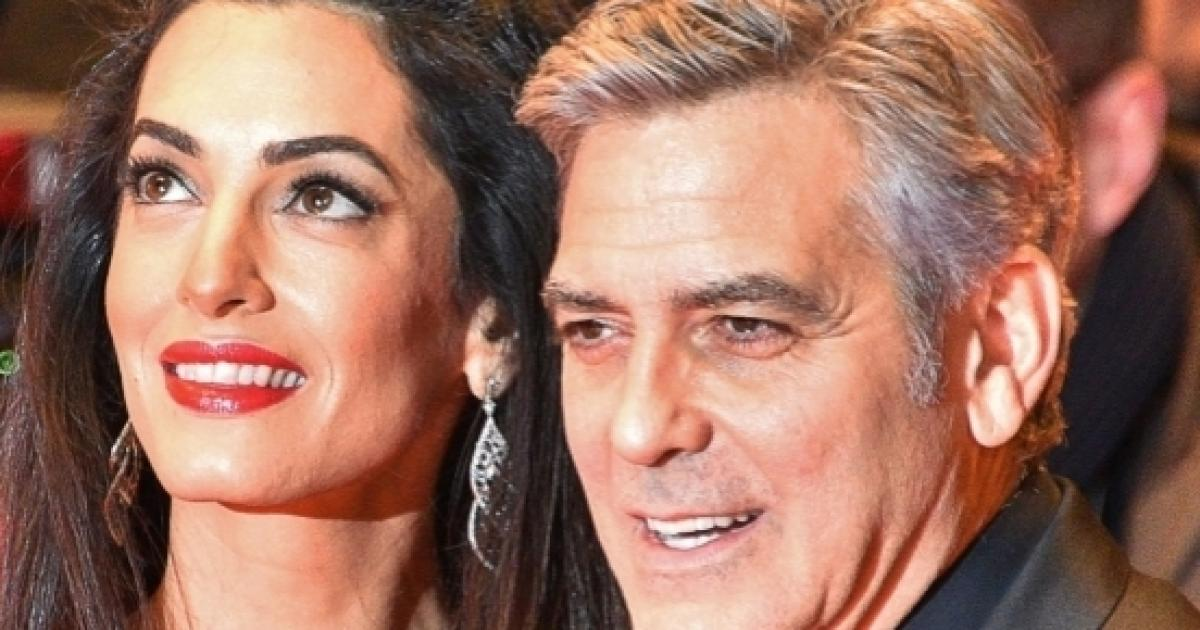 Amal And George Clooney Are Happy Parents To Twins