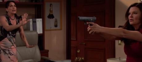 Beautiful, anticipazioni: Katie spara a Quinn?