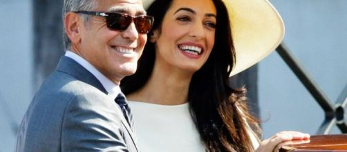 Amal and George are certified parents to twins Ella and Alexander. Photo - eonline.com
