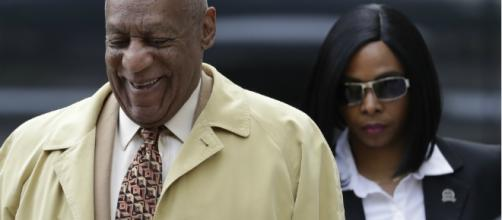 Bill Cosby arrives for a pretrial hearing in his sexual assault case. [Photo by Matt Slocum/AP Images]