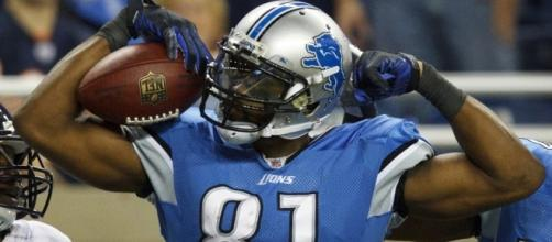 Calvin Johnson, Detroit Lions - YouTube screen capture