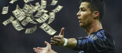 Cristiano Ronaldo como jugador del Real Madrid