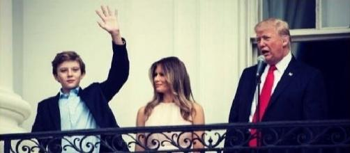 First Lady Melania Trump and Barron moving to White House on June 14 - Photo: Common Use Wikimedia