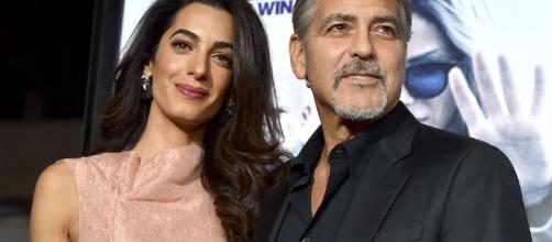 George Clooney e Amal Alamuddin: sono nati Ella e Alexander