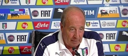 Gian Piero Ventura, ct dell'Italia
