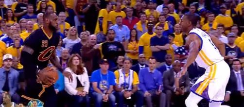 Is Game 3 The Biggest Of LeBron James' Career/ photo screencap via ESPN Youtube