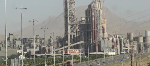 La città di Tehran vicino alla zona colpita