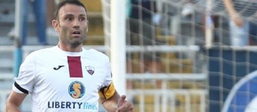 Luca Pagliarulo dovrebbe vestire la maglia del Trapani anche nel prossimo campionato di Lega Pro