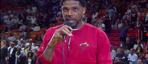 Miami Heat captain Udonis Haslem - YouTube screenshot