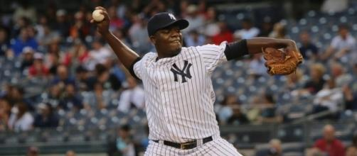 Michael Pineda allowed seven runs in just four innings of work on Sunday in another Yankees loss. Image: Wikimedia