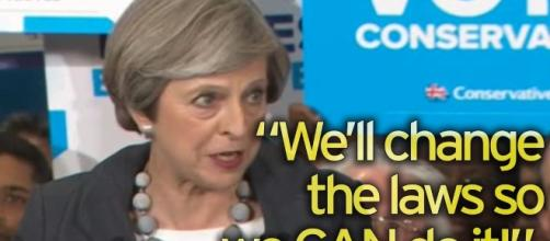 Theresa May threatens to rip up human rights laws to clamp down on ... - mirror.co.uk