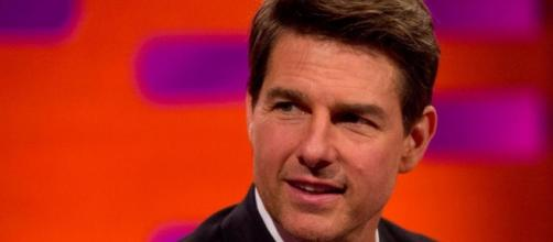 Tom Cruise from a screenshot on television