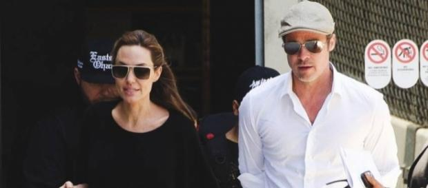 Angelina e Brad Pitt antes do divórcio (Foto: Divulgação)