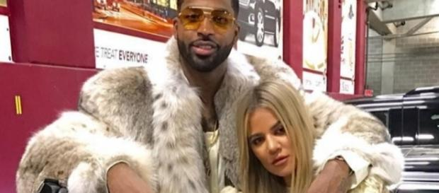 Are wedding bells ringing soon for Khloe Kardashian and Tristan Thompson? (via Blasting News library)