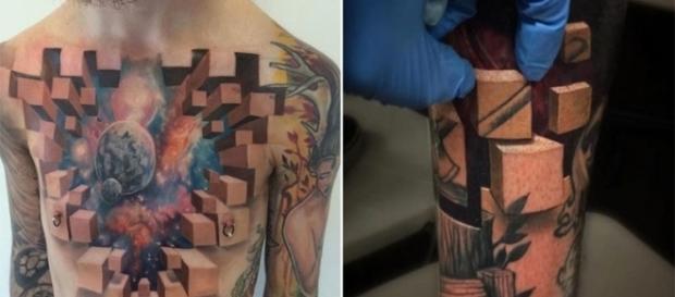 As tatuagens são realmente incríveis