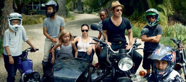 Brangelina: Brad Pitt Visits Kids First Time Since Divorce