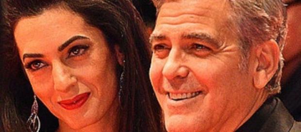 Clooney & Amal Clooney - Wikimedia