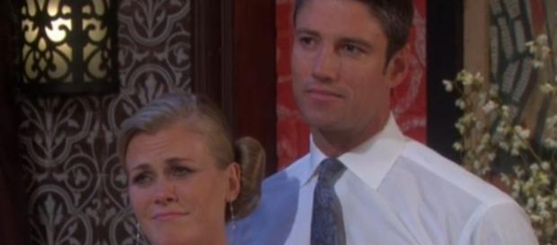 Days of Our Lives: Sami Brady and EJ DiMera. (NBC)