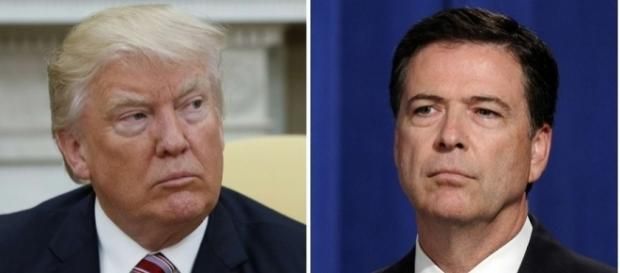Donald Trump accusé d'obstruction judiciaire concernant le licenciement de James Comey