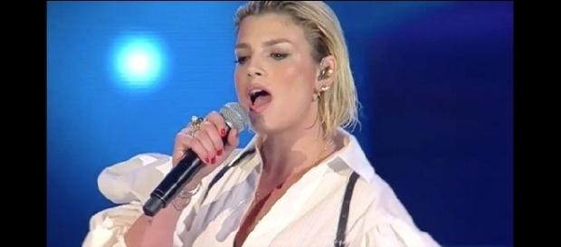 "Emma Marrone ai ""Wind Music Award 2017"""