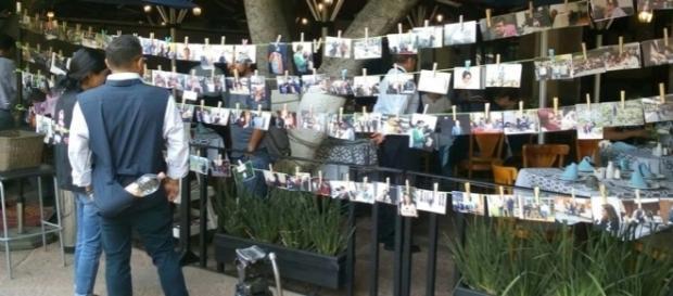 """""""Llévese la suya"""" en el Día de la Libertad de Expresión. Foto: Daniel Corona"""