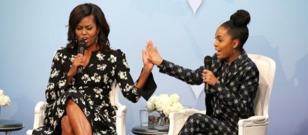 Michelle Obama Wrote Yara Shahidi's College Recommendation - vibe.com