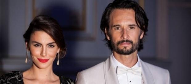 Nasceu Nina, a 1ª filha do casal Rodrigo Santoro e Mel Fronckowiak