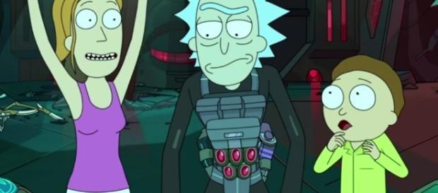 """Rick and Morty"" screen grab via BN library"