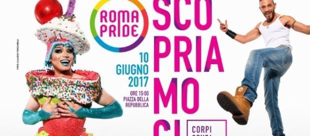 Roma Pride. La locandina dell'evento