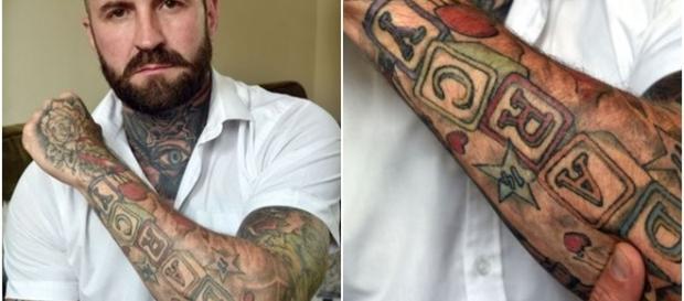 Veja os detalhes da tatuagem de Jamie Somers