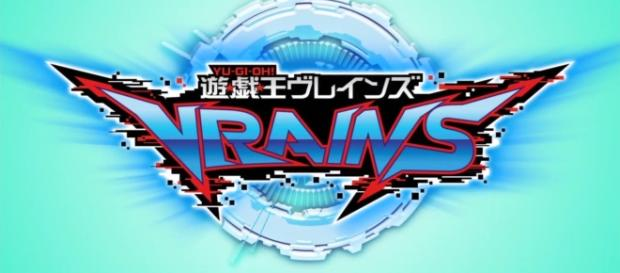 Yu-Gi-Oh! VRAINS logo | Photo screencap via GoGoAnime.io