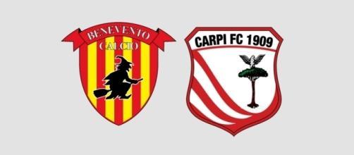 Benevento e Carpi si giocano la Serie A