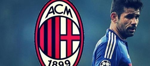 Diego Costa al Milan? Incontro a Londra