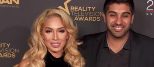 Farrah Abraham not engaged to Simon / Photo screencap from OK Magazine via Youtube