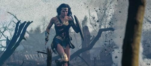 Gal Gadot as Wonder Woman reflects the horror of war and the determination to fight for the innocent