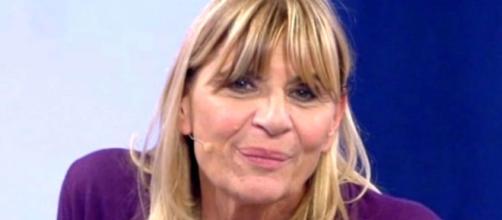 Gemma Galgani negli studi di Mediaset