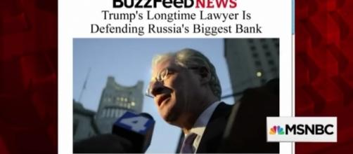 Marc Kasowitz is considered an aggressive litigator and Trump's personal lawyer for 12-years. / Photo by MSNBC via YouTube