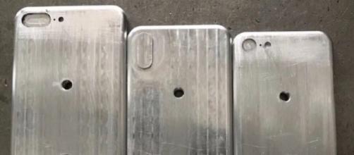 Nuove foto dei presunti stampi di iPhone 8, 7s e 7s Plus