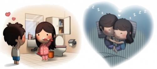 Imagens que mostram como o amor é lindo! (Foto: HJ-Story)