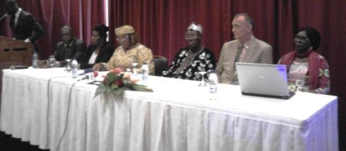 Panel des membres du SPIHT à l'hôtel Hilton de Yaoundé