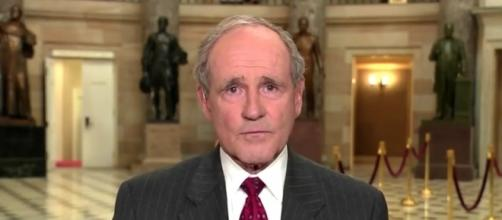 Sen. James Risch (R-ID) gives President Trump everything he needs. / Photo by PBS Newshour via YouTube