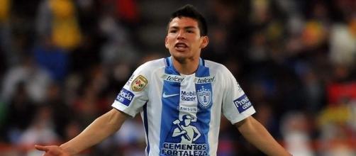 un club europeo será el futuro de Hirving Lozano