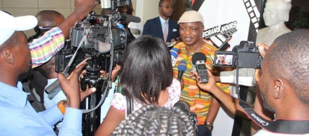 Bassek Ba Kobhio le délégué général du Festival ecrans Noirs