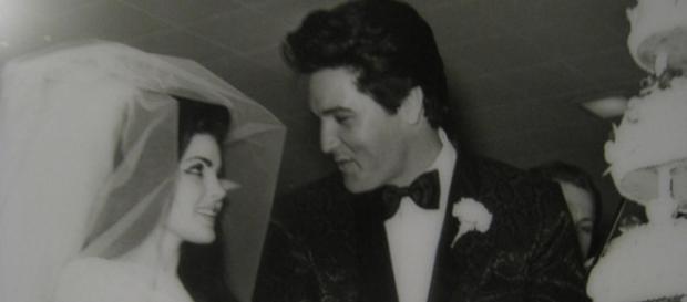 Elvis and Priscilla say 'I Do'-Photo Flickr